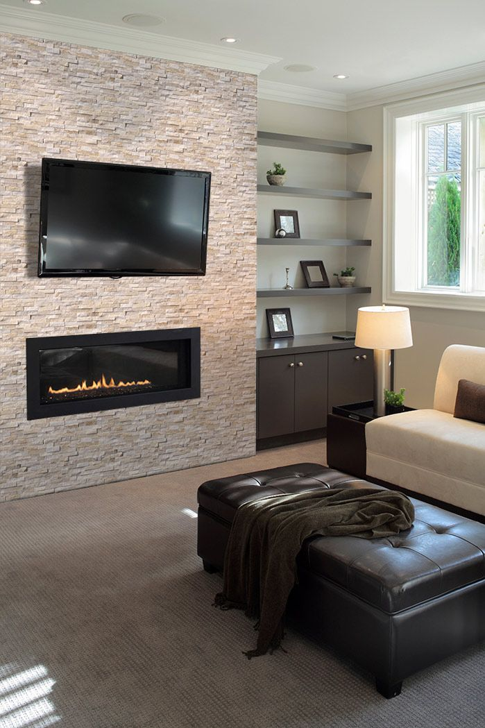 Msi Stacked Stone Visualizer Tool Fireplace Tv Wall Tv
