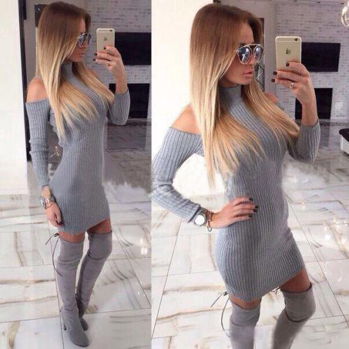 Sexy womens turtleneck sweater