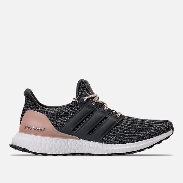 f657b069f Right view of Women s adidas UltraBOOST Running Shoes in Grey Carbon Ash  Pearl