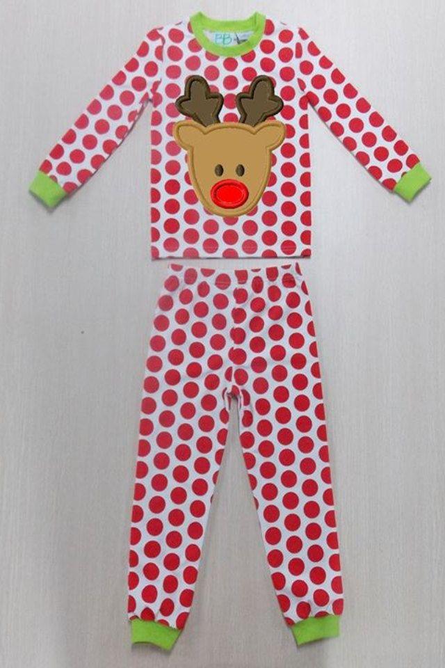 Boy And Girl Christmas Pajamas Sizes 6 Mo To 14 By