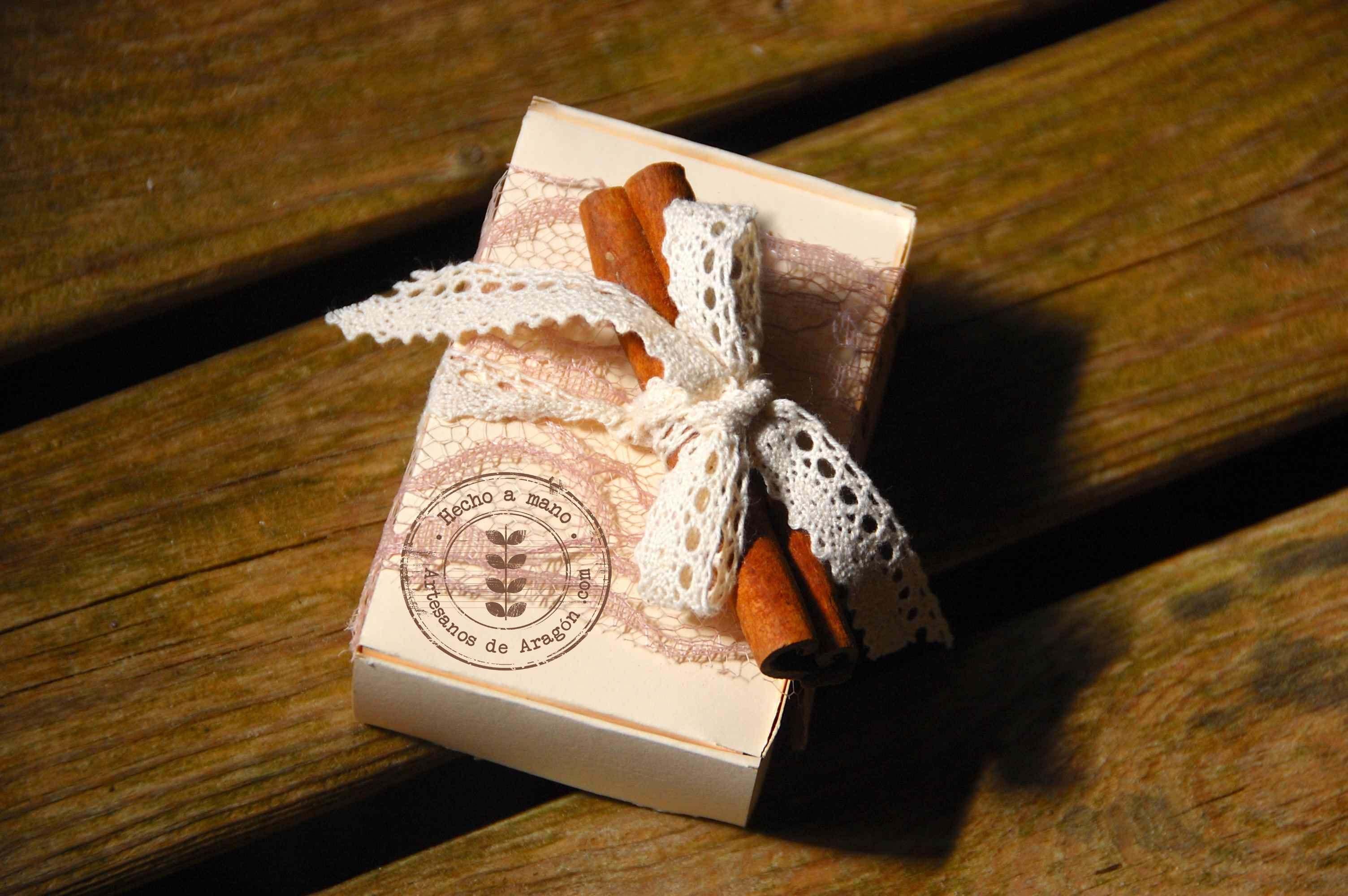 Jabón Delicioso Canela en Rama Artesanos de Aragón Limited Edition
