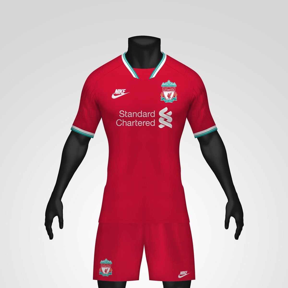 1990s Inspired Nike Liverpool 20 21 Concept Home Kit By Kifth Footy Headlines In 2020 Liverpool Logo Liverpool Kit Liverpool