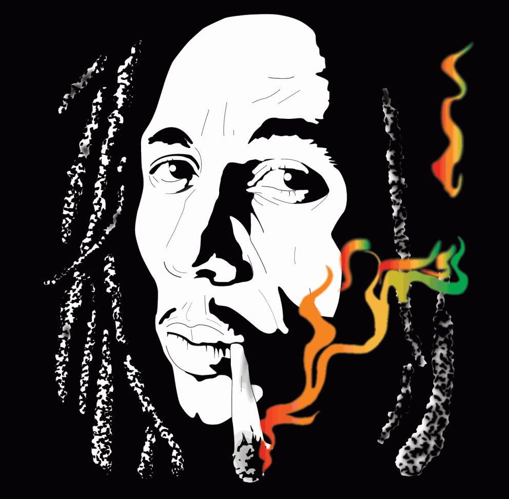 Bob Marley By O4x4ca Coolvibe Arte Digitalcoolvibe Arte Digital Bob Marley Art Bob Marley Painting Bob Marley Pictures