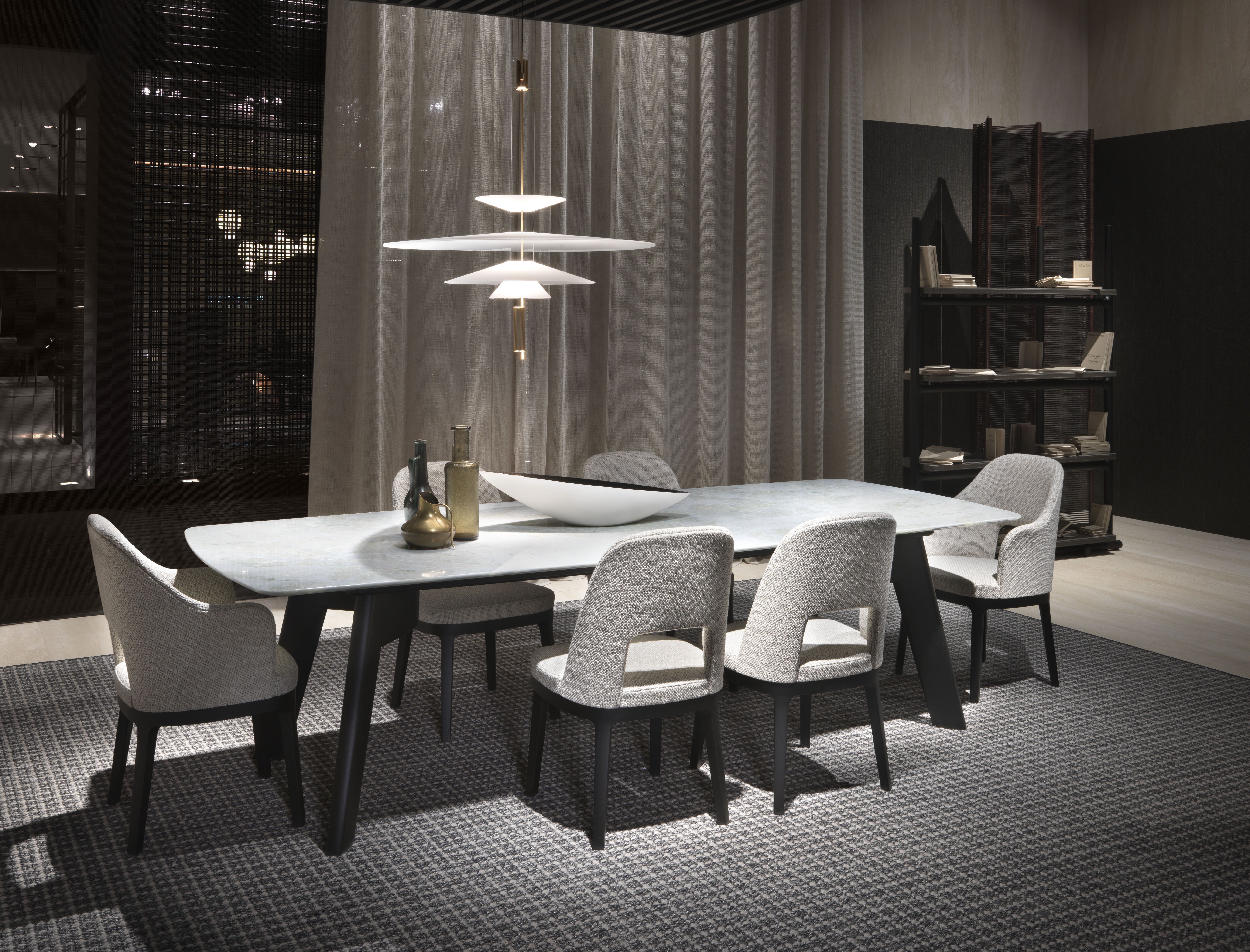Sedie o g ~ Tavolo flexform orlando sedie judit design roberto lazzeroni