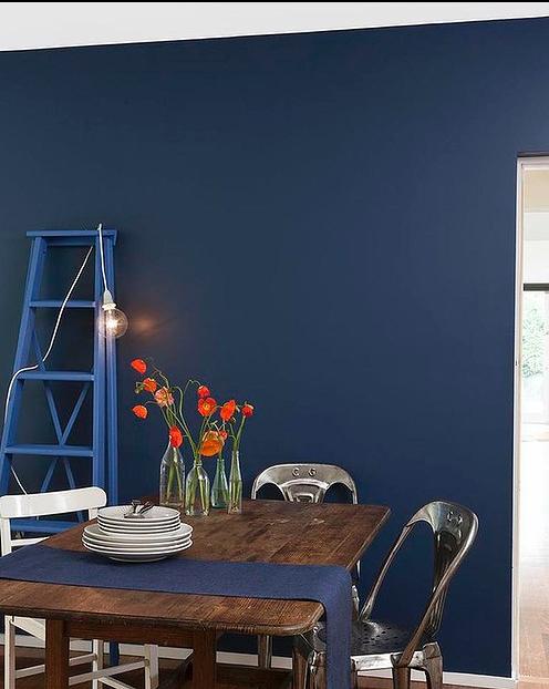 Breton Blue By Dulux Interior Blue