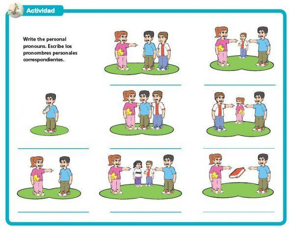 Pronombres Personales En Ingles Personal Pronouns Learning Spanish Spanish Subject Pronouns
