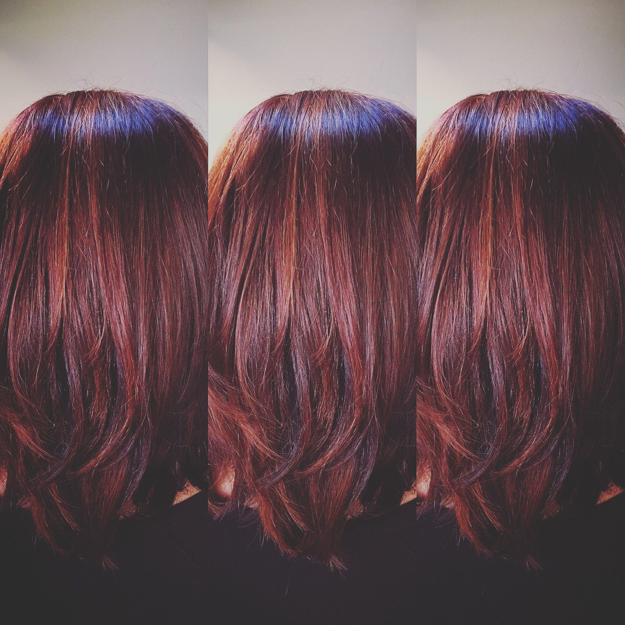 Burgundy hair adrianacolorsmewild pinterest burgundy hair