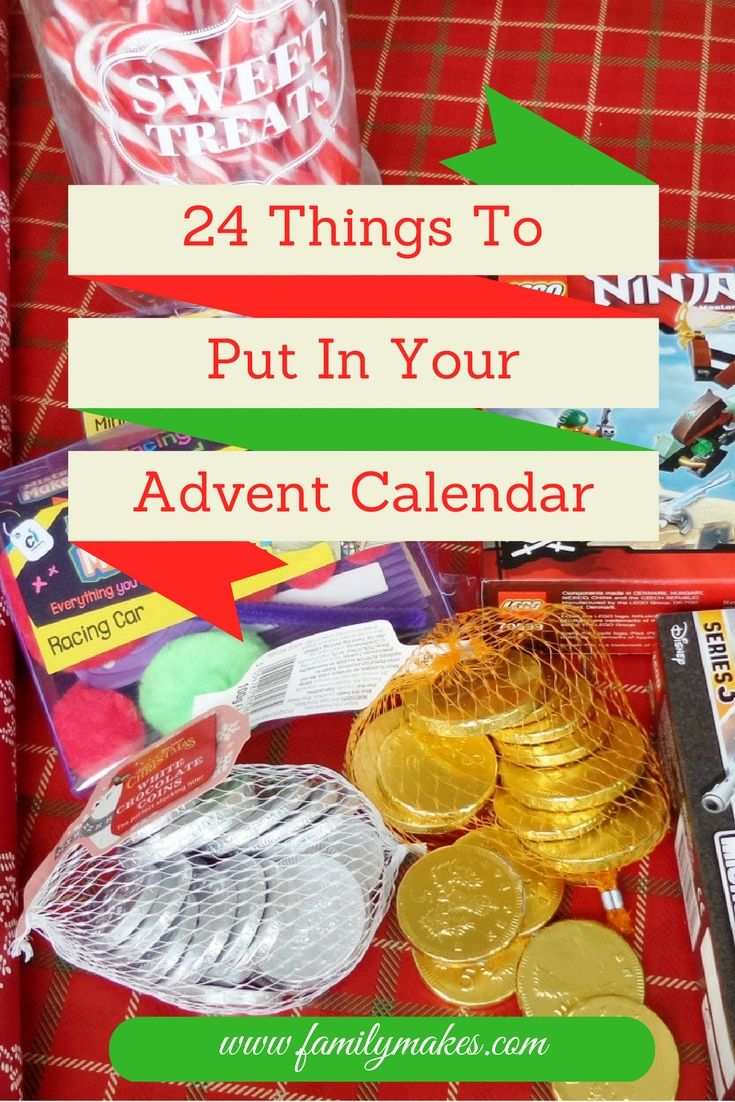 24 Things To Put In Your Advent Calendar Advent Calendar
