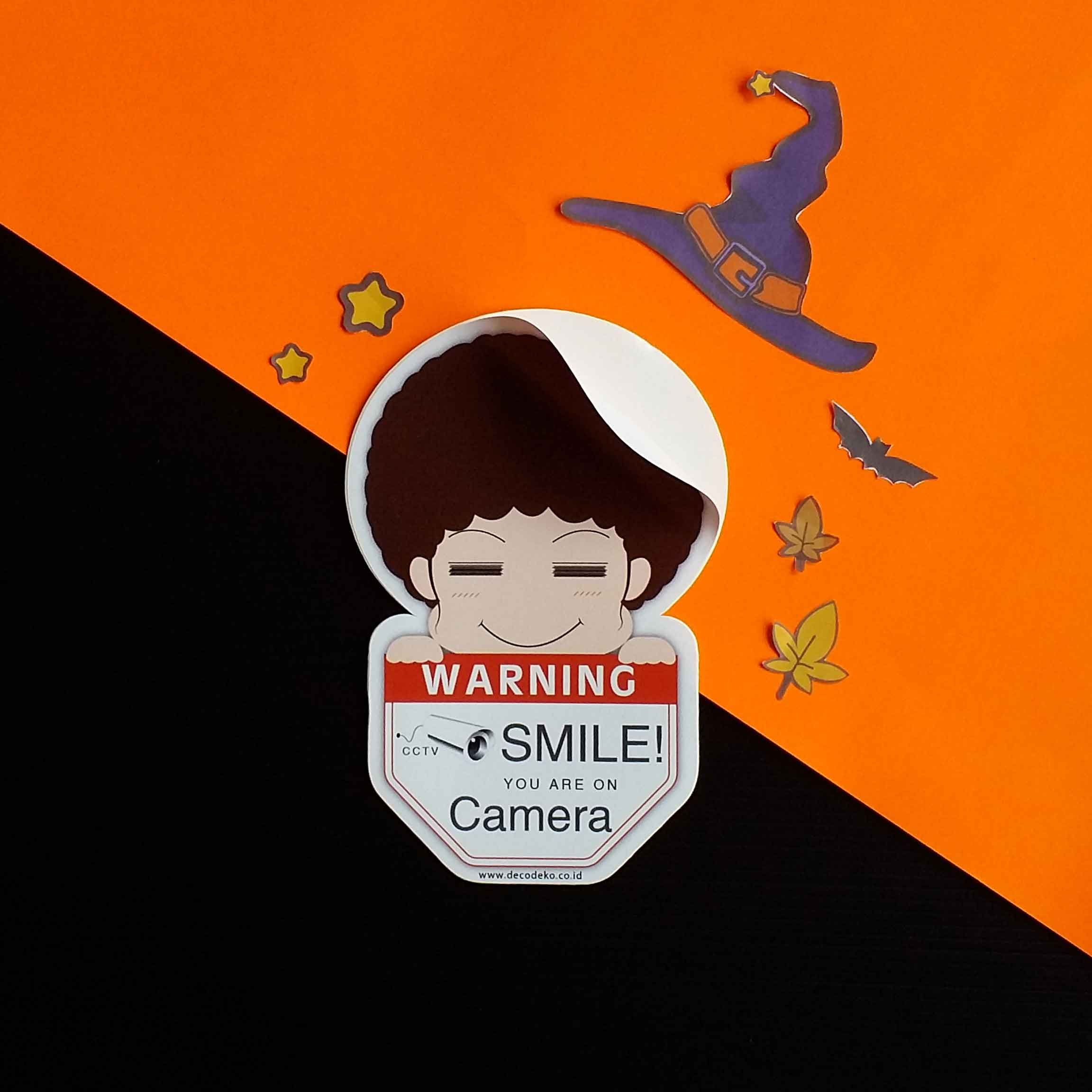 "Stiker ""CCTV"""