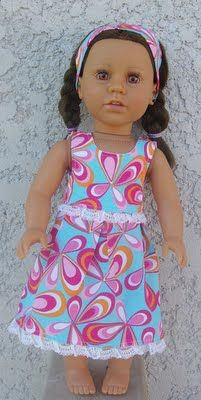 Thousand Square Feet: My Birthday Princess & Clothes for 18 Inch Dolls