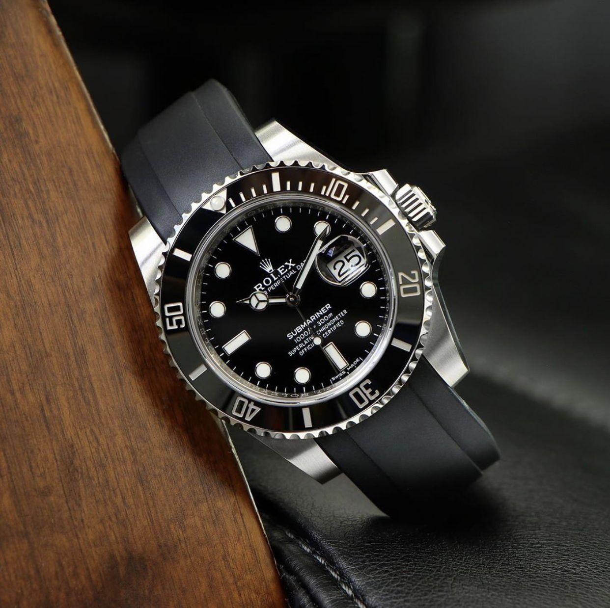 Pin on Rubber Watch Bands for Rolex