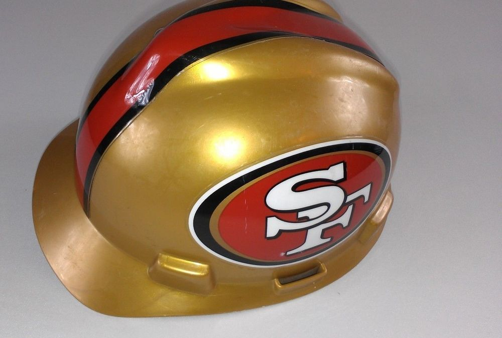 MSA V-Gard Cap Type Adult SZ M #SanFrancisco #49ers #NFL Hard Hat Pin Suspension http://www.ebay.com/itm/-/291512633769?roken=cUgayN&soutkn=fQHBli #bogo #bargains #sanfran #football
