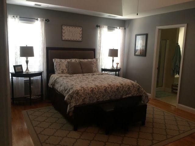 Best Flannel Gray Behr Gray Master Bedroom Bedroom Paint 400 x 300
