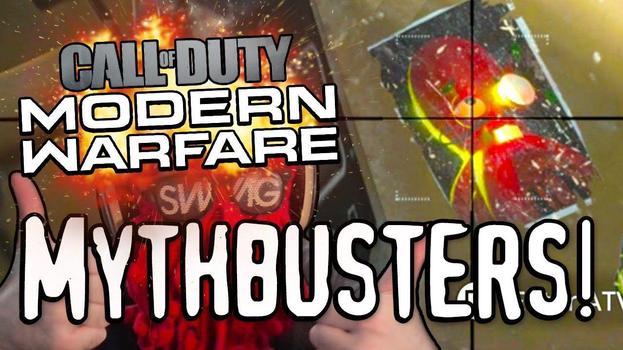 Hidden Easter Eggs Call Of Duty Modern Warfare Mythbusters In 2020 Modern Warfare Call Of Duty Warfare