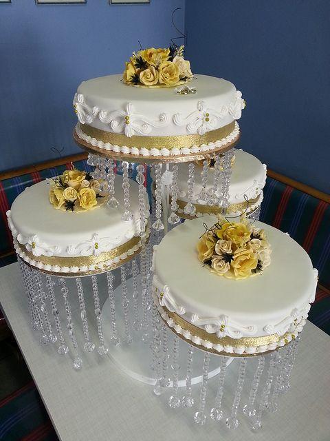 4 Tier Wedding Cake | Flickr   Photo Sharing!