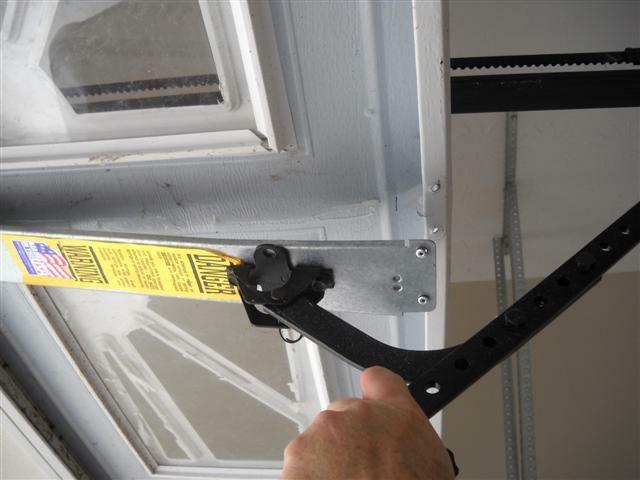 Top Section Center Stile Damage Homeowner Should Consider Replacing The Top Panel Or The Whole Door Depending On If Othe Garage Door Opener Doors Garage Doors