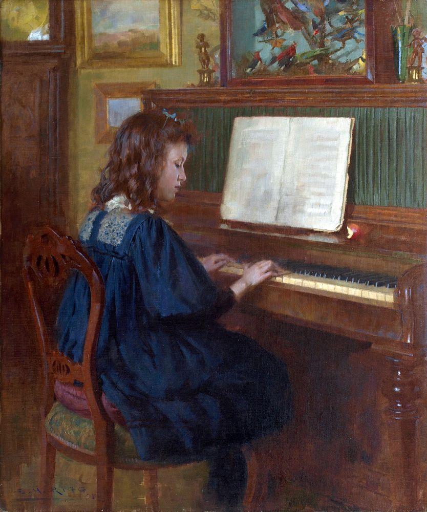 Ernest Higgins Rigg 1868 1947 The Young Pianist 1907 Https 1 Bp Blogspot Com 60968mkofgo Vstqzu0qtki Aaaaaaaatd0 Dybu Arte Di Bambino Arte Pianoforte