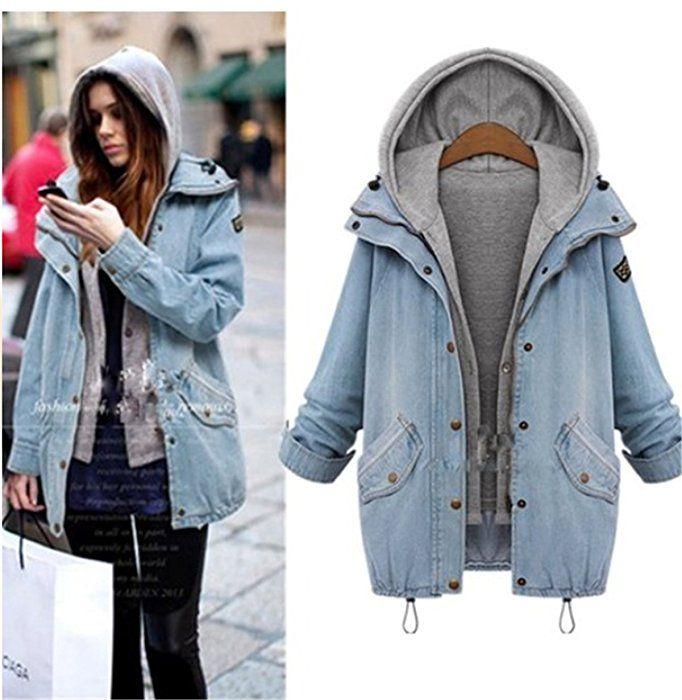 buy online 3f388 a6174 Fanessy Winter Herbst Damen Wintermantel Schöne Coat Parka ...