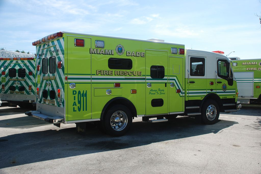 Ambulance image by Jacob Thompson Arnone on Miami