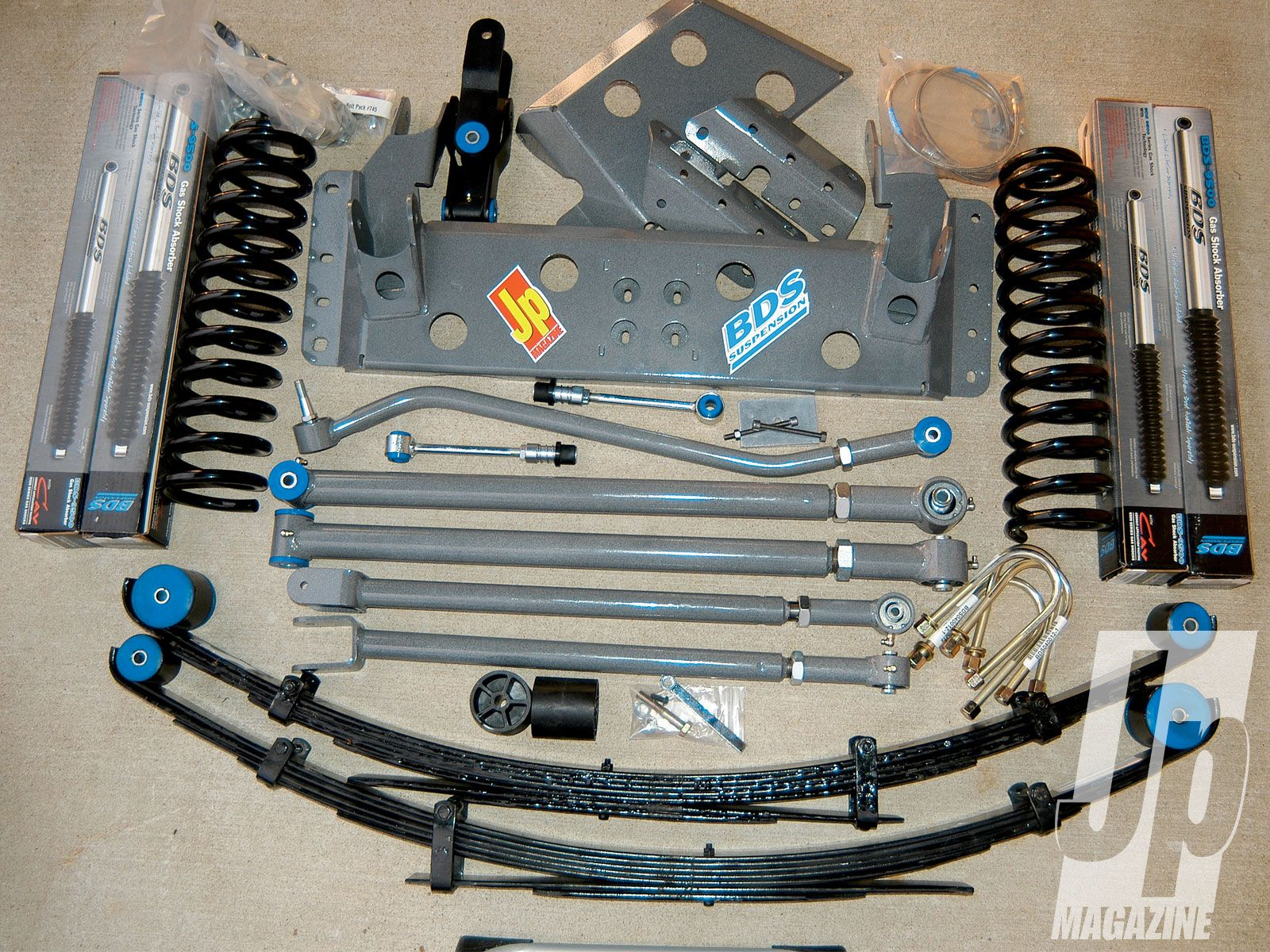 Charming Jeep Cherokee BDS Long Arm Lift Kit   Shoehorn XJ