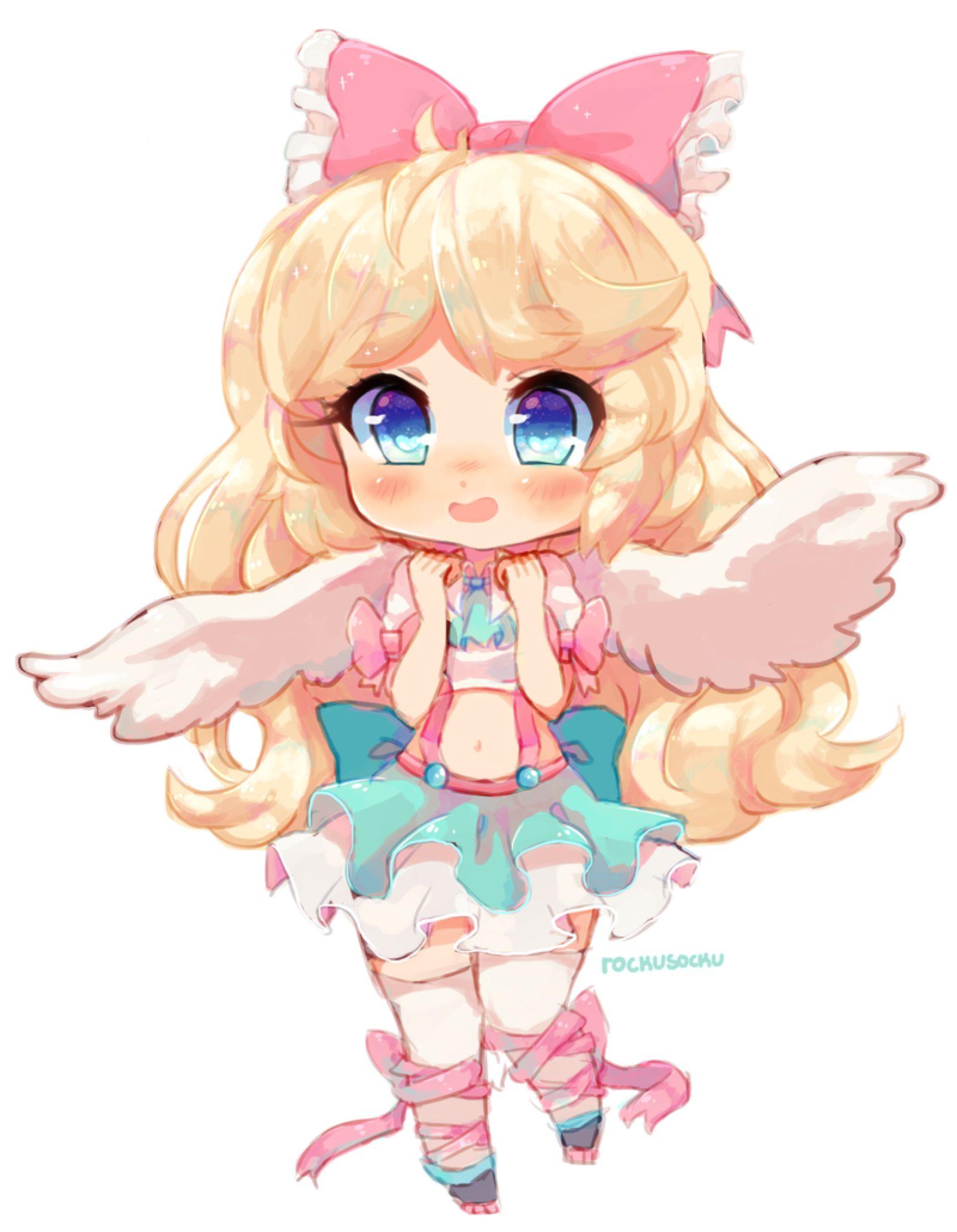 The Softest Angel by RockuSocku on DeviantArt Cute