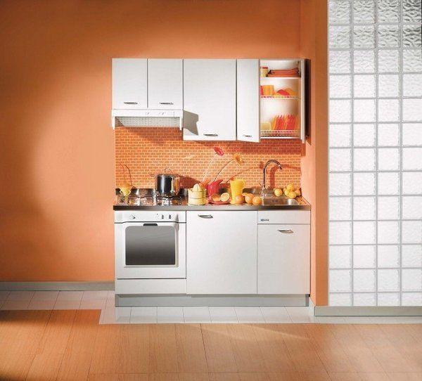 Cocinas peque as para espacios reducidos tiny house mini kitchen kitchen cabinets y micro Cocinas espacios pequenos