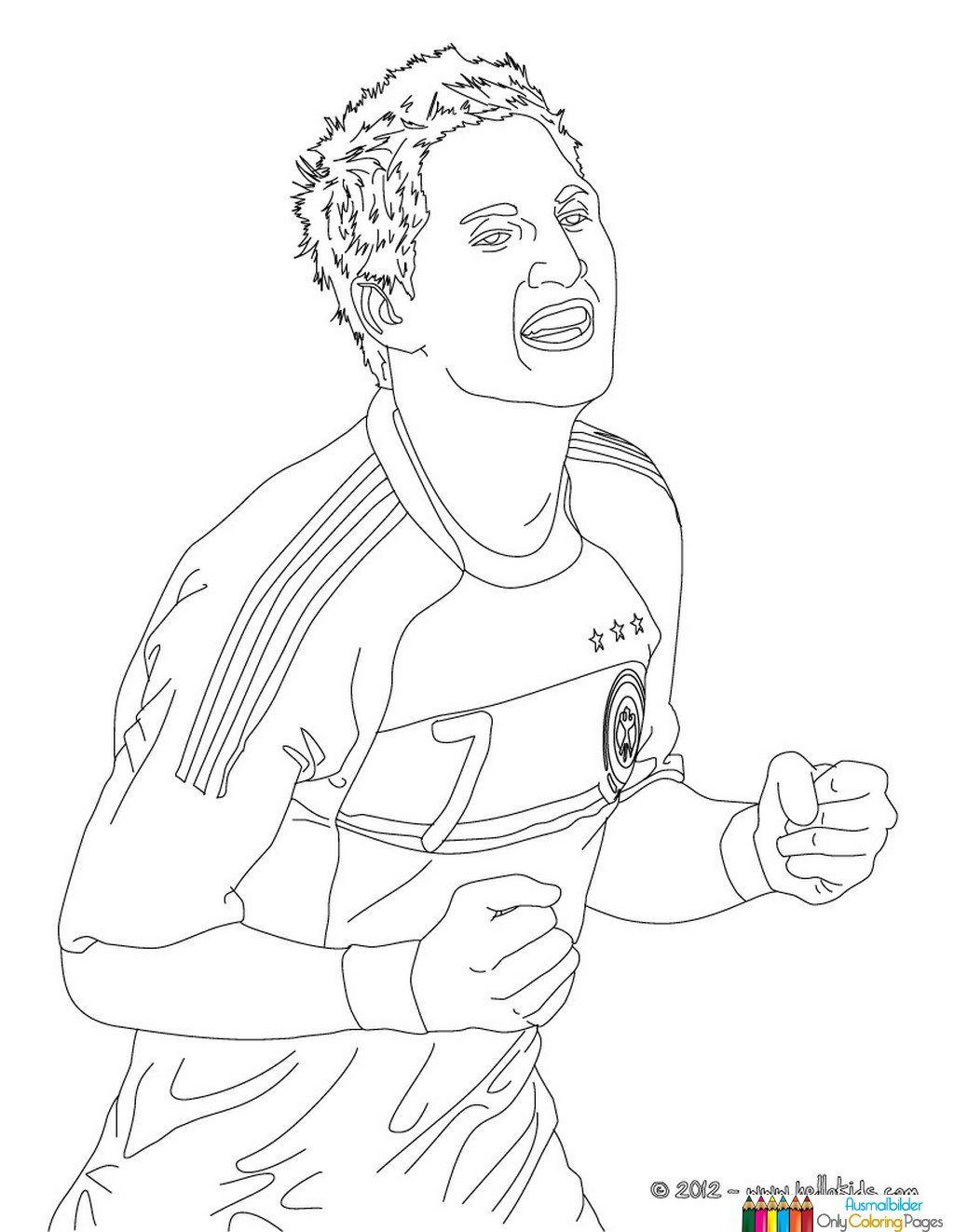 Manuel Neuer Ausmalbilder Ausmalbilder Pinterest Ausmalbilder