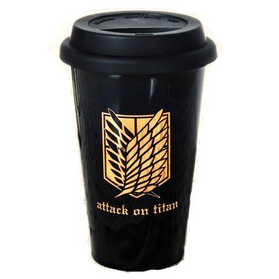 Shingeki no Kyojin Survey Legion Logo Ceramic Cup