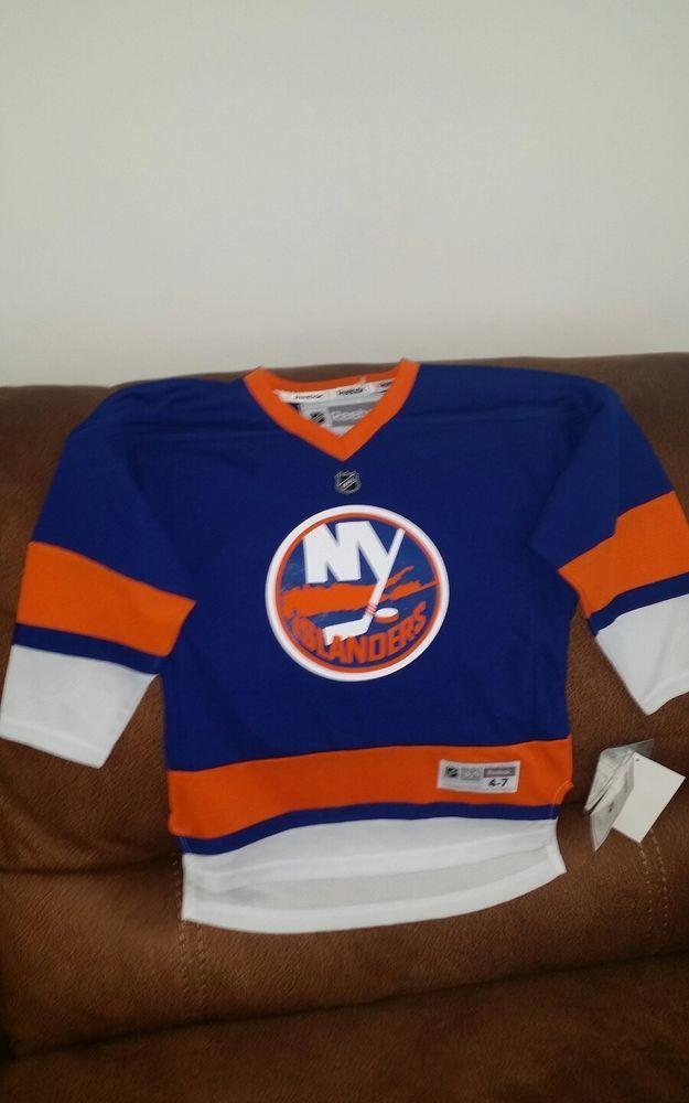 Reebok ny islanders johnny boychuk Hockley NHL jersey NWT size 4-7 youth  54eaf42ec
