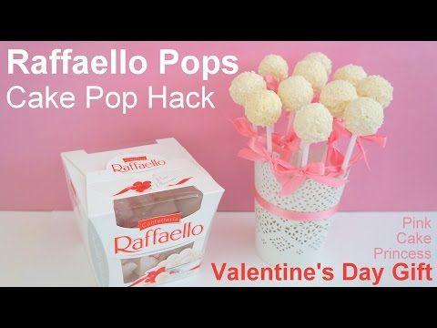 Easy No Bake Cake Pop Hack how to Raffaello Pops Bouquet