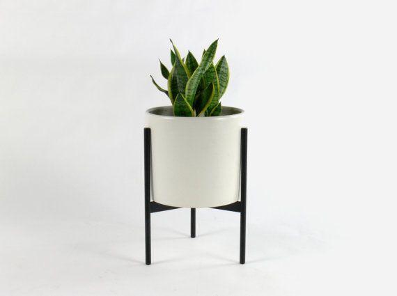 Mid Century Modern Planter By Comod On Etsy Mid Century Modern