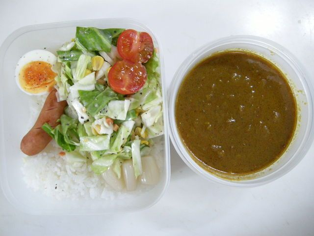 Curry and rice (beef sinew)   20130313 Lunch