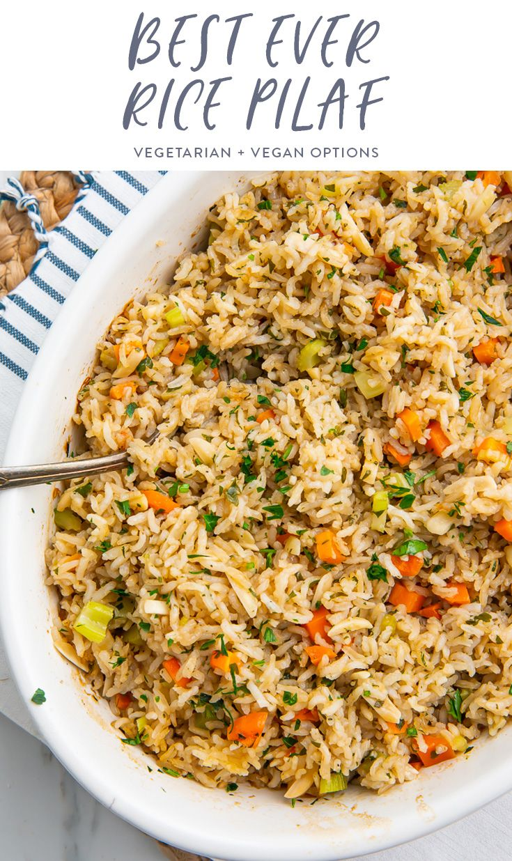 Best Ever Rice Pilaf