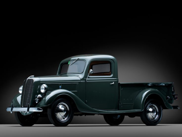 1937 Ford V8 Deluxe Pickup truck retro v-8 h