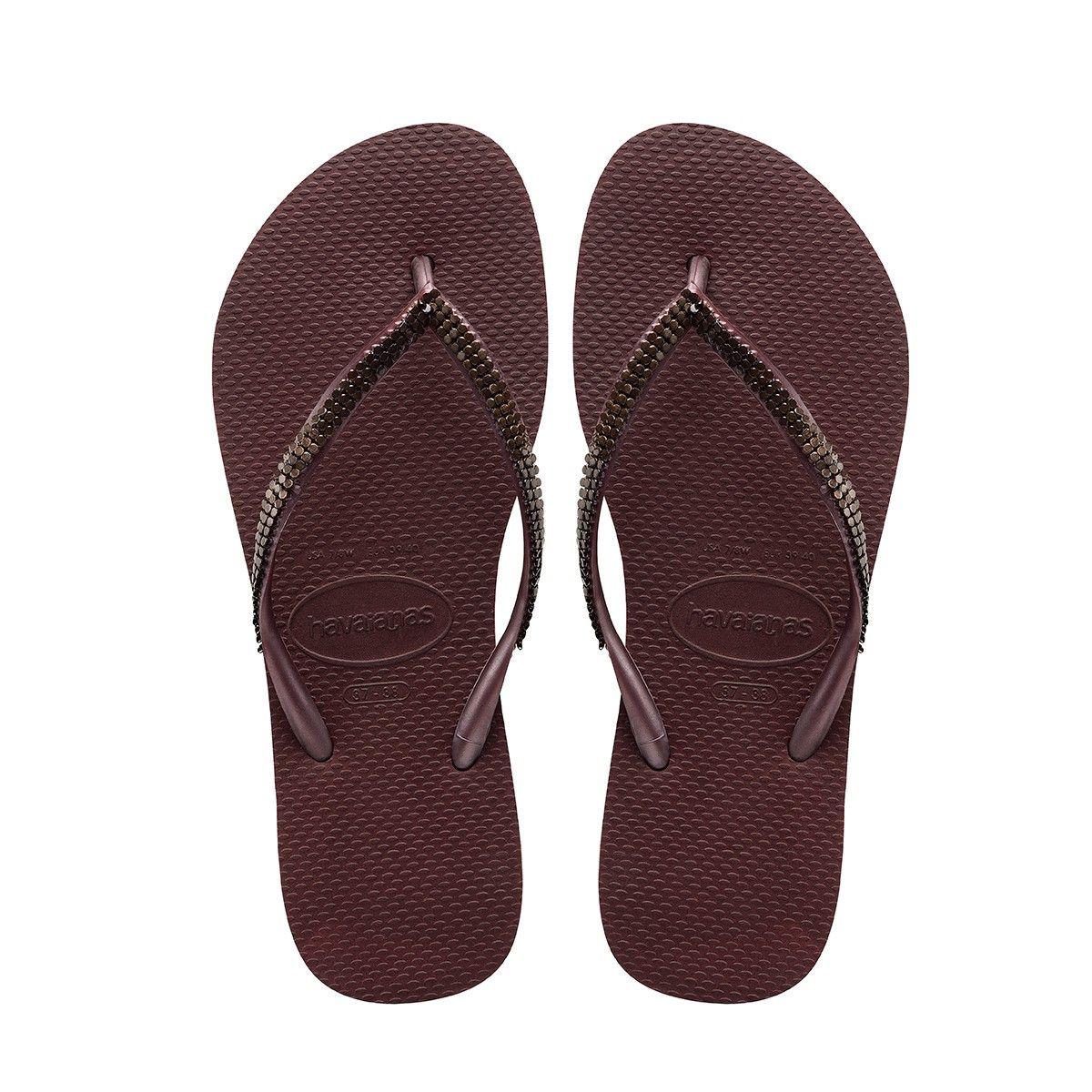 f60104c076f7 HAVAIANAS Slim Metal Mesh Sandal Grape Wine.  havaianas  shoes  all ...