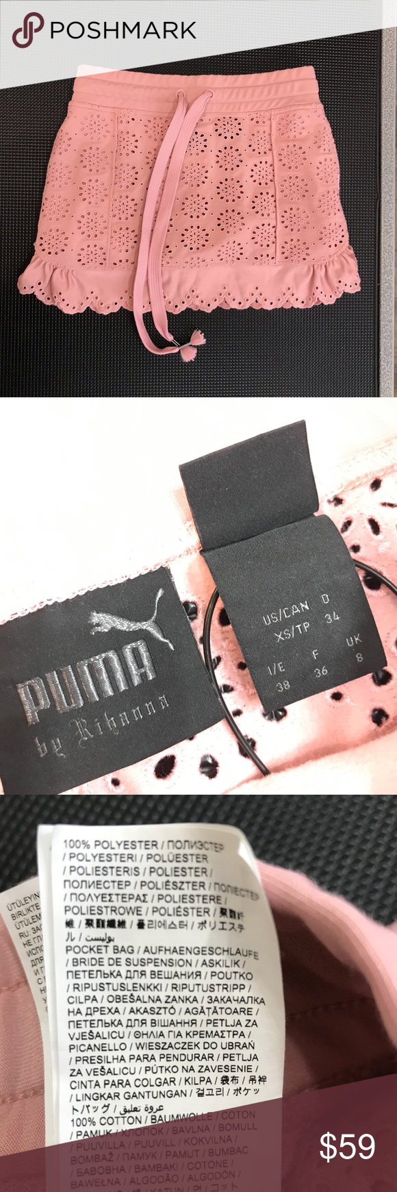 Rihanna Skirt   Rose brand, Fenty, Rihanna