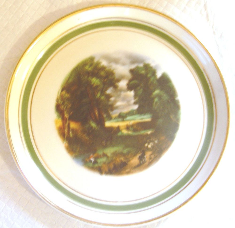 HYALYN DECORATIVE COLLECTIBLE POTTERY PLATE-(COUNTRY SCENE) 8 1/4  IN  sc 1 st  Pinterest & HYALYN DECORATIVE COLLECTIBLE POTTERY PLATE-(COUNTRY SCENE) 8 1/4 ...