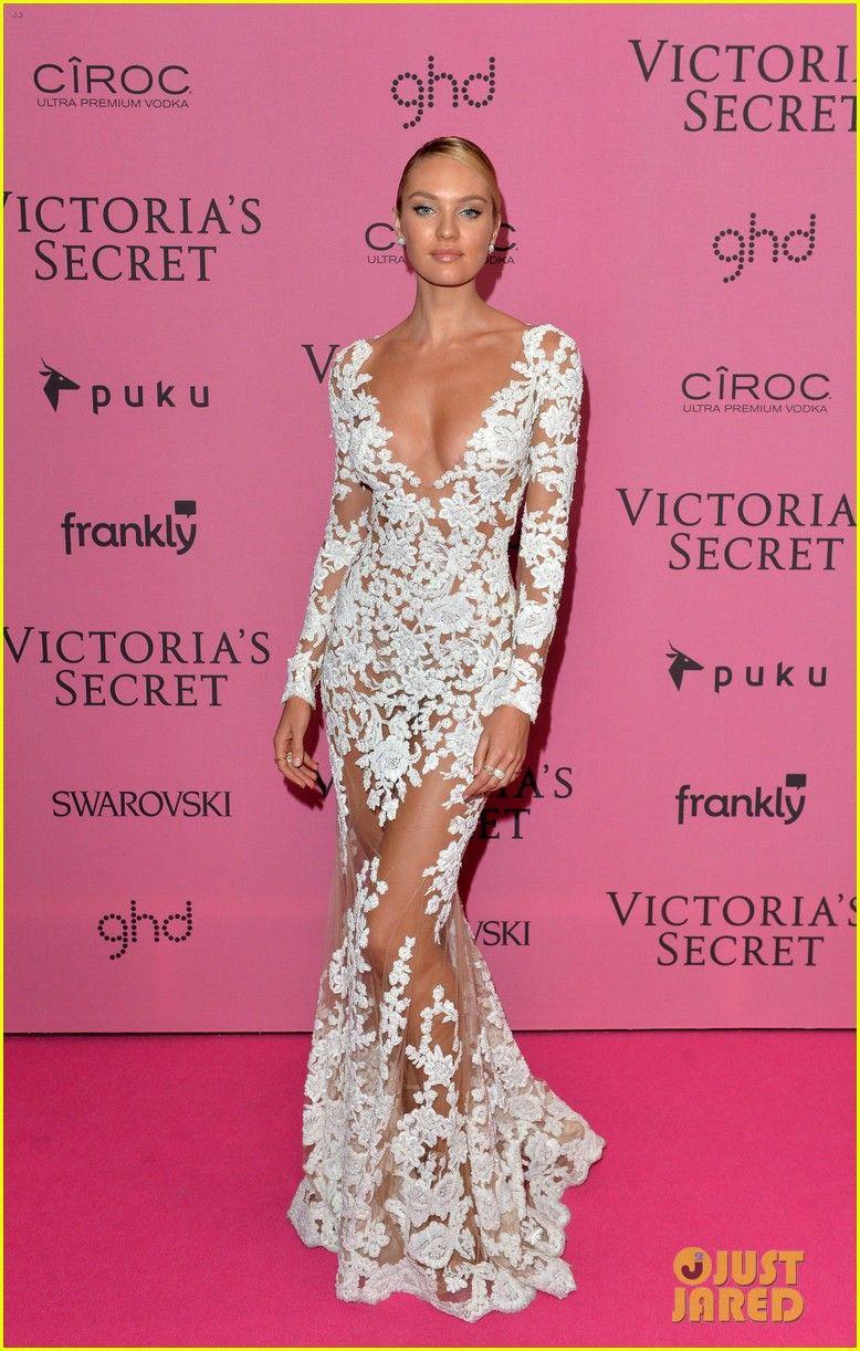 adriana lima alessandra ambrosio victoria secret fashion show after ...