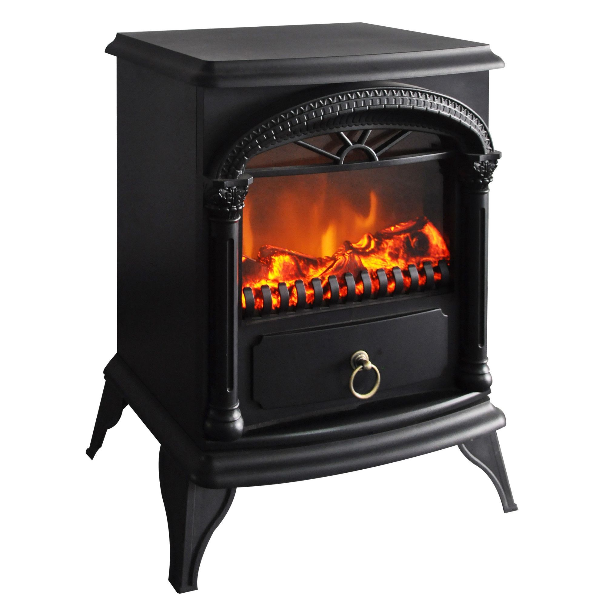 Faux Poele A Bois Electrique Free Standing Electric Fireplace Products Pinterest