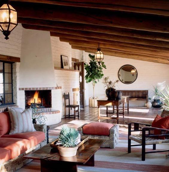 Spanish Colonial Interior Design Ideas: Spanish Style Retreat In The Desert Designed By Scott