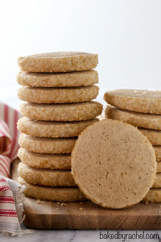 Cinnamon Sugar Slice and Bake Cookies