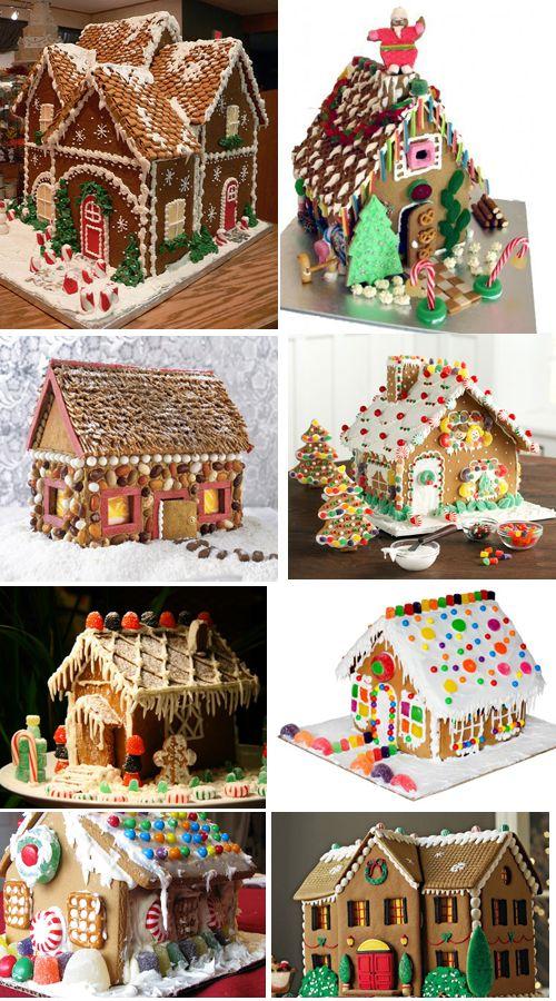 Las casitas de jengibre que los ni os decoran en navidad - Casitas de navidad ...