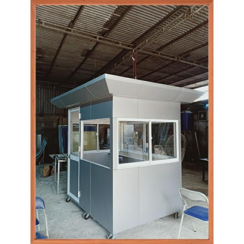 aluminum and glass protection house, guard house, cheap security house, residual tank…