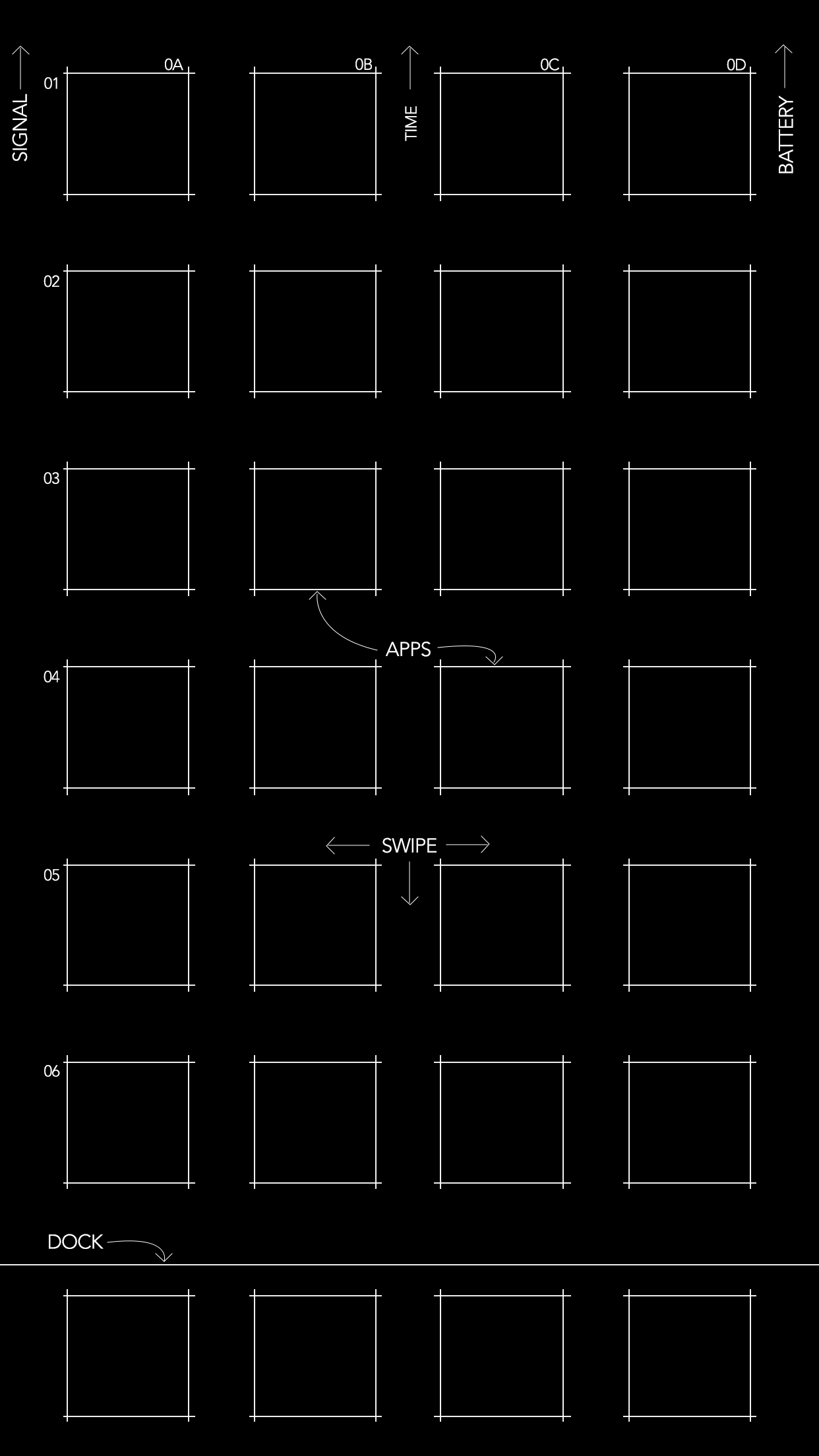 Iphone 8 Outline Wallpaper