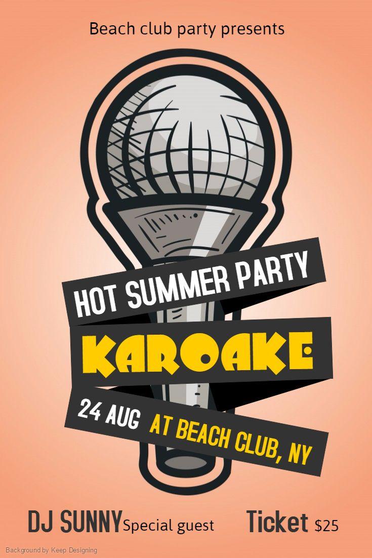 hosting a karaoke party made easy smsu mockups pinterest