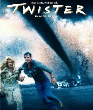 Twister-Helen hunt and Bill paxton