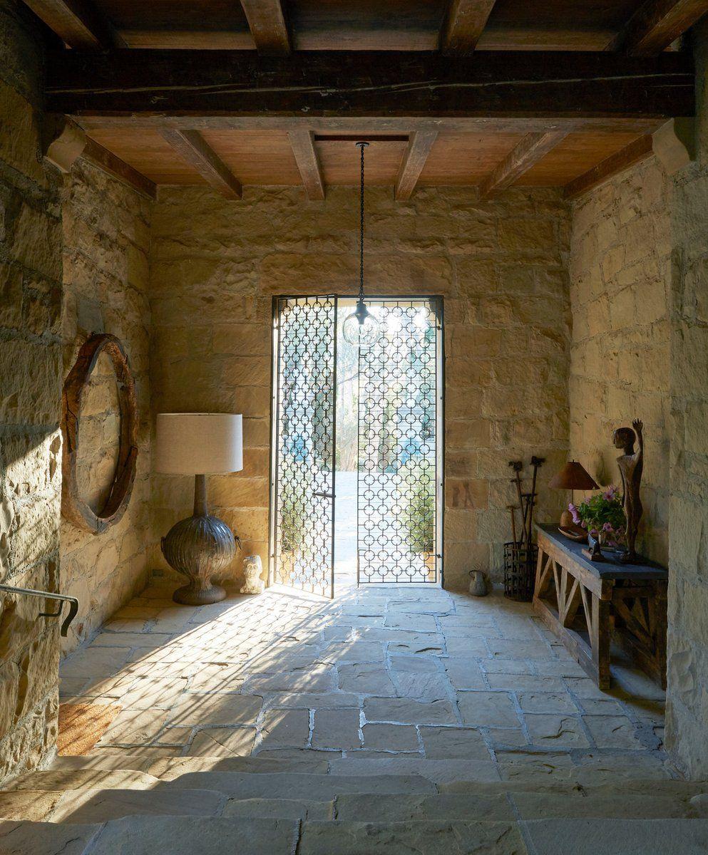 Entry And Hall In Santa Barbara, CA By Matt Blacke Inc In