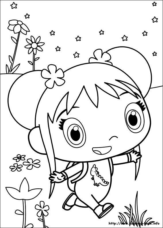 Ni Hao Kai-Lan coloring picture   Coloring Pages   Pinterest   Kai lan