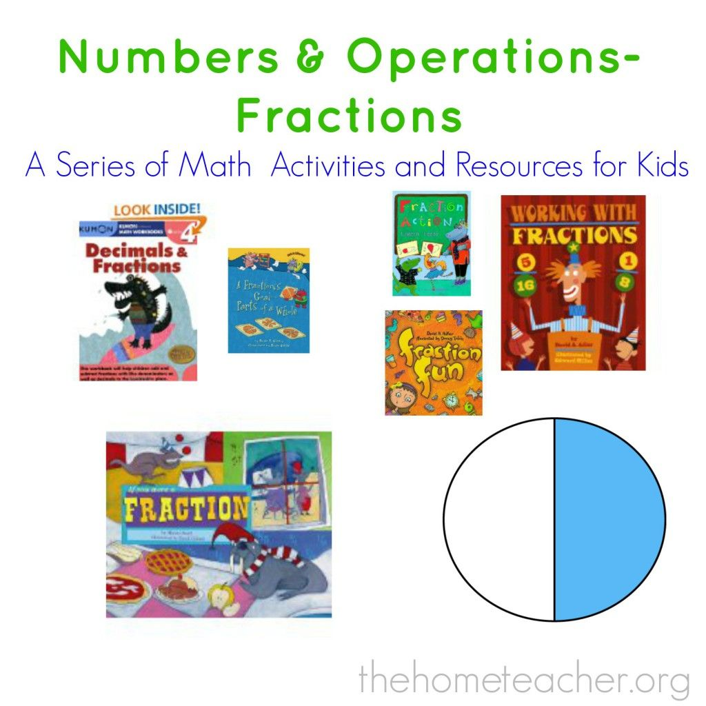 Numbers Amp Operations Fractions A Common Core Math Series