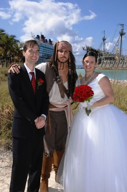 Captain Jack Sparrow from Pirates of the Caribbean - Wedding ...